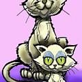 Cat N Kitten by Kevin Middleton