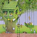 Cat Tree House by Pat Scott