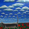 Cat Who Walks Alone by Aliza Souleyeva-Alexander