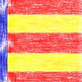 Catalan Flag Colors V4 by Celestial Images