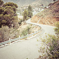 Catalina Island Mountain Road Picture by Paul Velgos