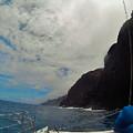 Catamaran In Kauai by Chloe Elerding