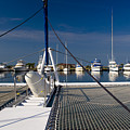 Catamaran Ready To Sail by Gerth Jan Helmes