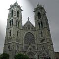 Cathedral Basilica In Newark Nj by Frank Nicolato