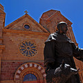 Cathedral Basilica In Santa Fe by Susanne Van Hulst