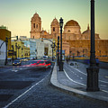 Cathedral From Campo Del Sur Cadiz Spain by Pablo Avanzini