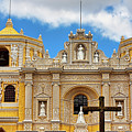 Cathedral In Antigua, Guatemala by Tatiana Travelways
