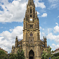 Cathedral In San Sebastian Is The Largest Religious Structure In The Basque Country by George Westermak