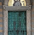 Cathedral Of Amalfi Door by Allan Van Gasbeck