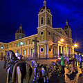 Cathedral Of Granada Shines Brightly by Sam Antonio Photography