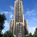 Cathedral Of Learning by Spencer McKain