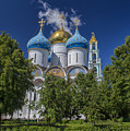 Cathedral Of The Assumption At Trinity Lavra Of St. Sergius In Sergiyev Posad, Russia by Ivan Batinic