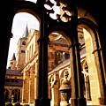 Cathedral Of Trier Window by Steven Myers