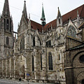 Cathedral Regensburg by Christiane Schulze Art And Photography
