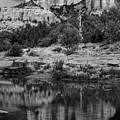 Cathedral Rock Black And White Number Seven by Bob Coates