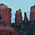 Cathedral Rock Moon 081913 H by Edward Dobosh