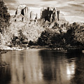 Cathedral Rock Reflection by Bob Coates