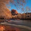 Cathedral Rock Sedona Arizona by Larry Marshall