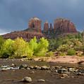Cathedral Rock Sedona Arizona by Waterdancer