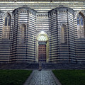 Cathedral Side Door Orvieto Italy by Joan Carroll