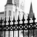 Catheral Basilica - Bw by Scott Pellegrin