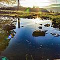 Catherine Creek Pond by Joseph Broschart