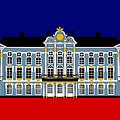 Catherines Palace Inspiration - Katharinenhof Inspiration St Petersburg Russia by Asbjorn Lonvig