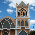 Catholic Church In Ibarra by Robert Hamm