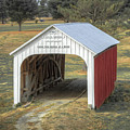 Catlin Covered Bridge  by Jack R Perry