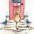 Cat's Welcome Motel by Teresa White