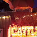 Cattlemen's Neon Stock Yards by Rospotte Photography