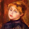 Catulle Mendez by Renoir PierreAuguste