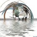 Caught In A Net by Wayne Bonney