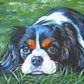 Cavalier King Charles Spaniel Tricolor by Lee Ann Shepard