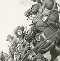 Cavalry Charge by Pat Nicolle