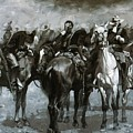 Cavalry In An Arizona Sandstorm 1889 by Remington Frederic