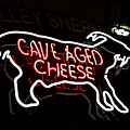 Cave Aged Cheese by Ronald Watkins