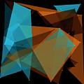 Cave Polygon Pattern by Frank Ramspott