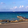 Cayman Dock by Elise Samuelson