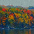 Cayuga Autumn by David Lane