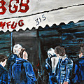 Cbgb's by Wayne Pearce