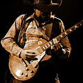 Cdb Winterland 12-13-75 #60 Enhanced In Amber by Ben Upham