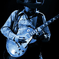 Cdb Winterland 12-13-75 #60 Enhanced In Blue by Ben Upham