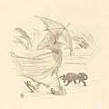 Ce Que Dit La Pluie by Henri De Toulouse-lautrec