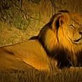 Cecil The Lion by Leonardo Digenio