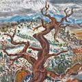 Cedar And Singing Bird by Dawn Senior-Trask