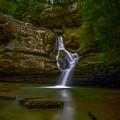 Cedar Falls 2 - Hocking Hills Ohio Waterfall by Ina Kratzsch