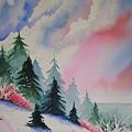 Cedar Fork Snow by Karen Stark
