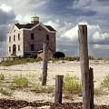Cedar Island Lighthouse Long Island New York by Tony Ramos