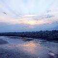 Cedar Island Sunrise 1 by Alan Hausenflock